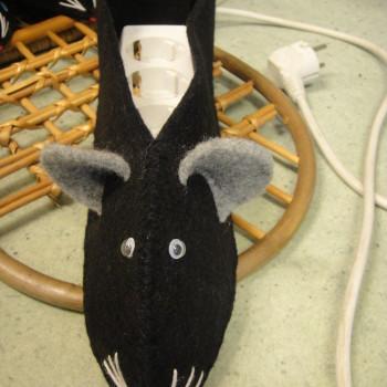 чёрная мышь
