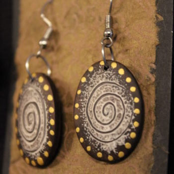 wooden earings